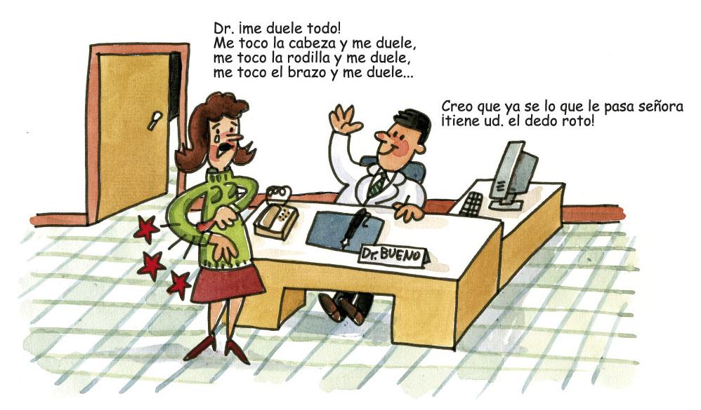 Més acudits de metges