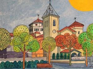 quadre creu alta