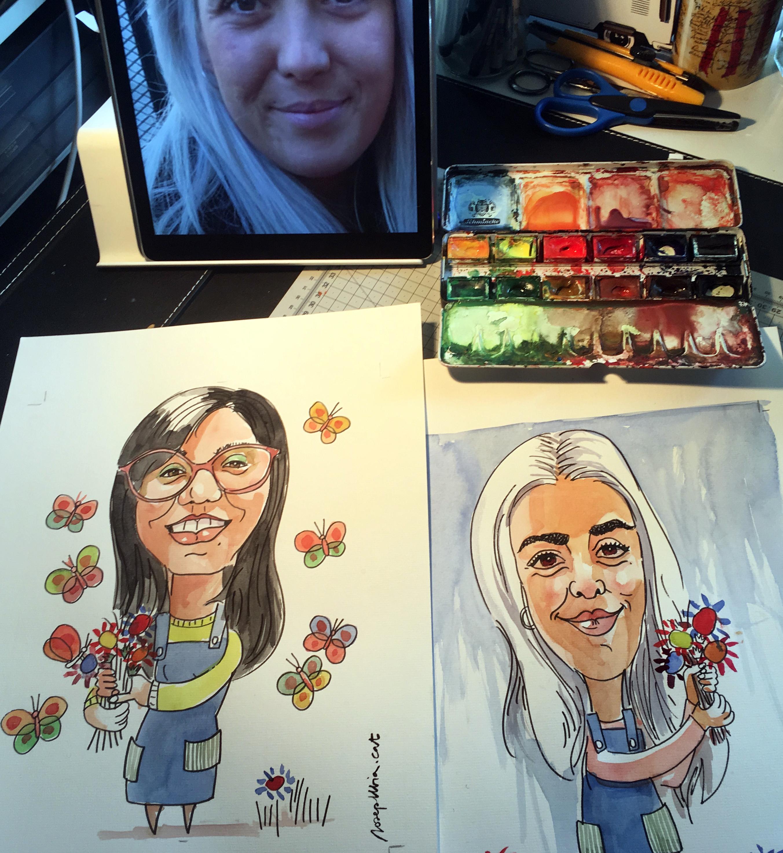 Més caricatures per regalar