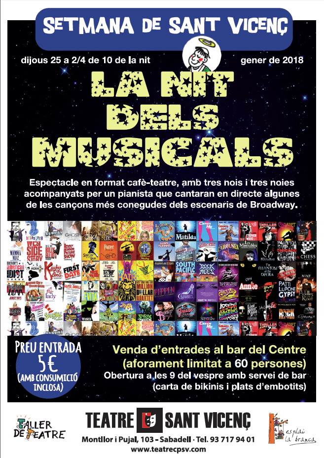 cartell nits musicals